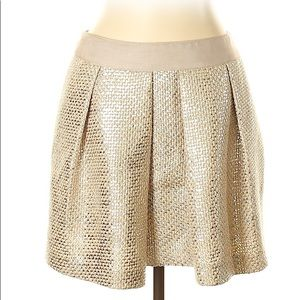 Milly formal Skirt gold mini